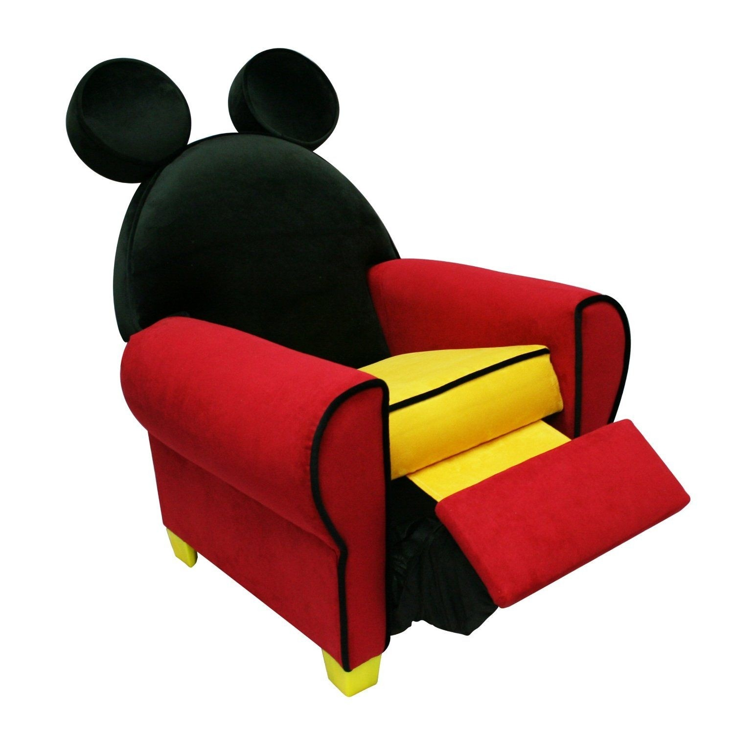Disney mickey mouse toddler chair disney mickey mouse upholstered