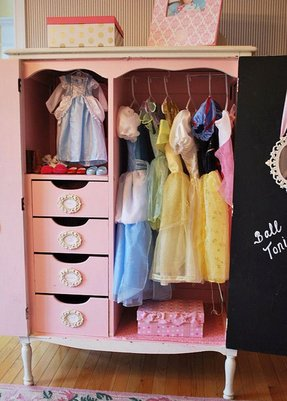 Dress up closet for kids