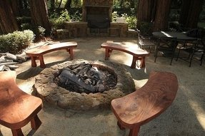 Fire pit benches 2