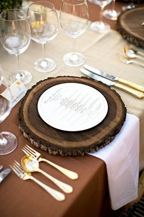 Wood Charger Plates - Ideas on Foter