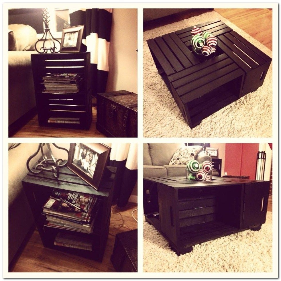 How To Make A Crate Table