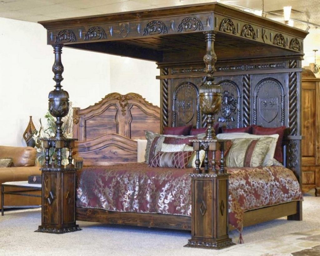King size four poster bed 1 & King Size Four Poster Bed - Foter