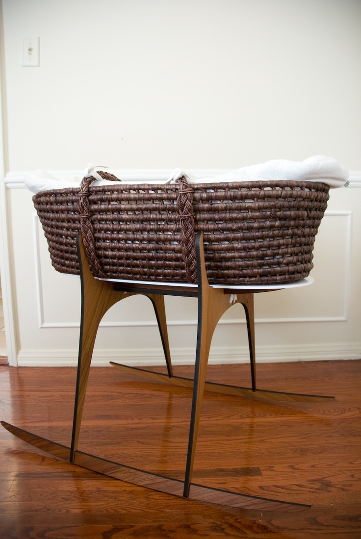 Mid Century Modern Baby Moses Basket Love So Me A