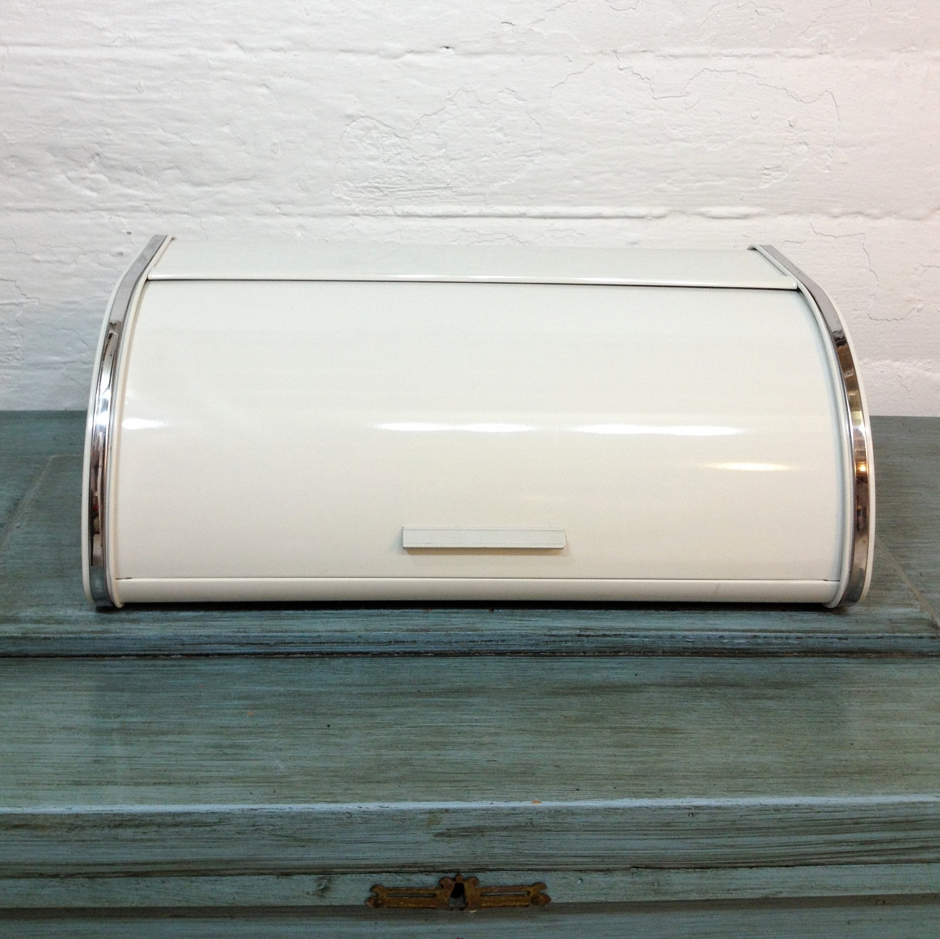 Mid century modern bread box by belgian