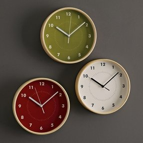 Modern kitchen clock in vintage style contemporary kitchen furniture