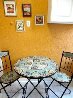 Mosaic bistro table set 1
