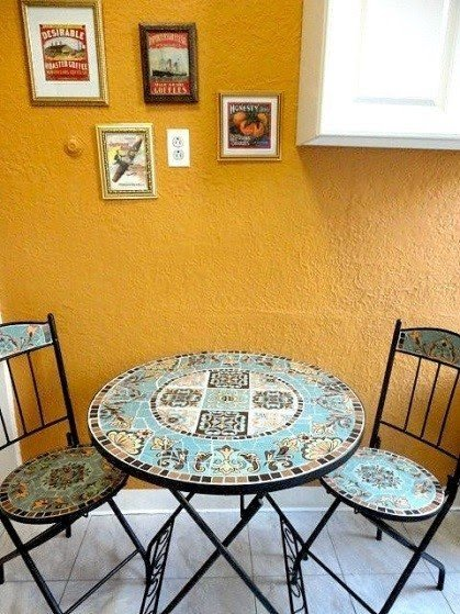 Mosaic Bistro Table Set   Ideas On Foter
