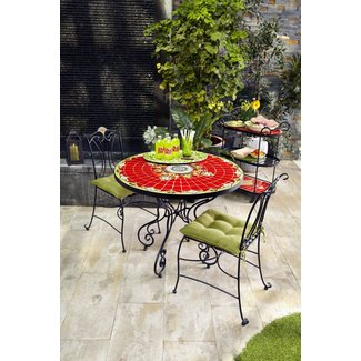 Mosaic bistro table set 2