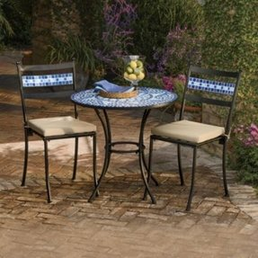 mosaic tile bistro set