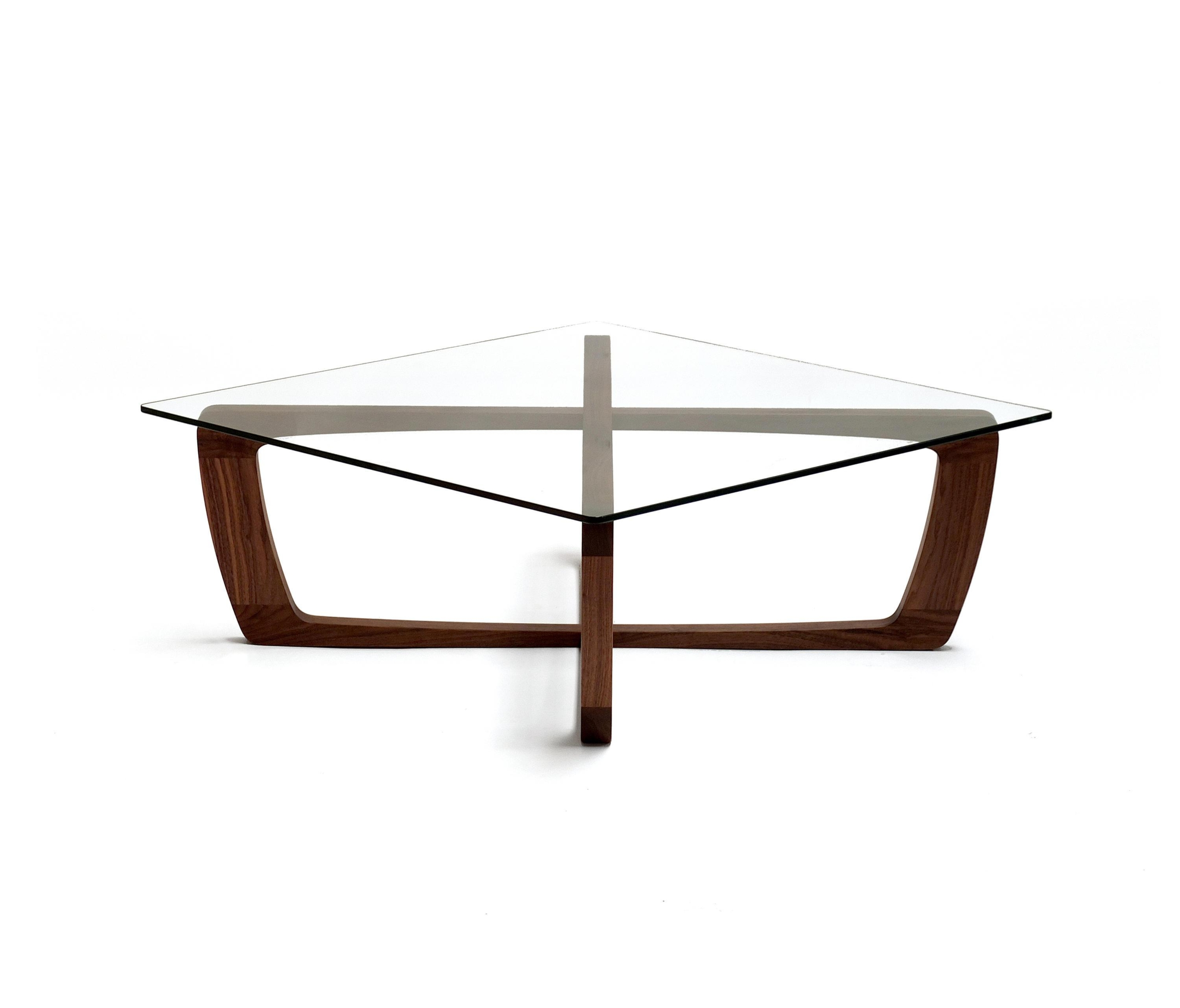 Exceptionnel Oak Coffee Table With Glass Top