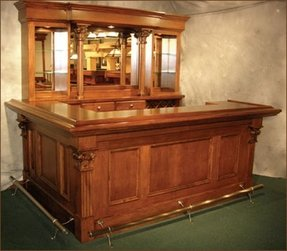 Oak Home Bar Furniture 19