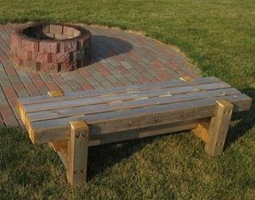 Fire Pit Benches Ideas On Foter