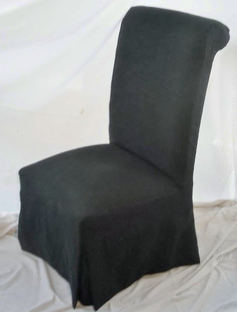 Parsons Chair Slipcover Contemporary Dining Chairs And Benches