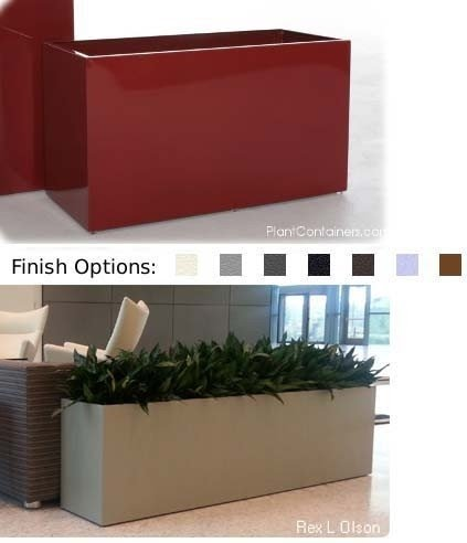 Planters Outdoor Planters Steel Rectangular And Square Planterss