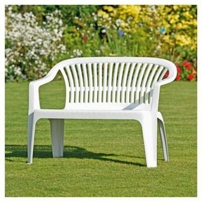 Plastic Patio Benches Ideas On Foter