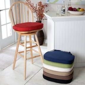 Round stools with cushion