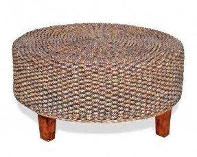 Round Woven Coffee Table Foter