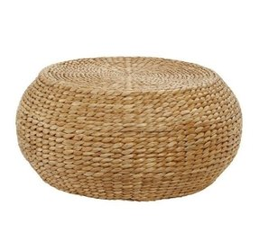 Round woven coffee table 6