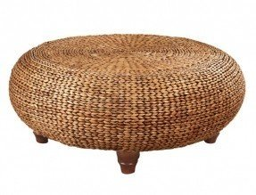Round woven coffee table 9