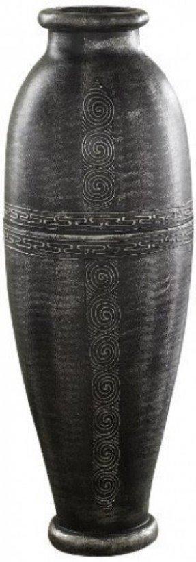 Silver Floor Vase Foter