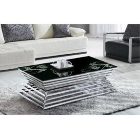 Stainless steel living room furniture 4