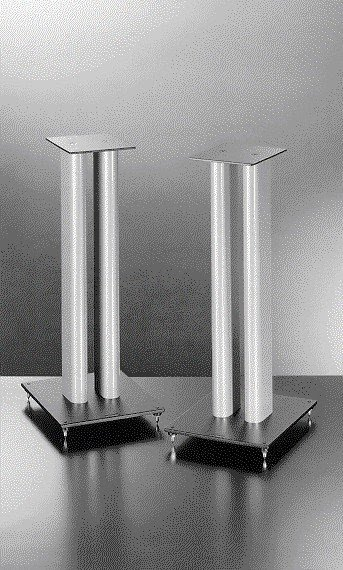 Stainless steel speaker stands 1