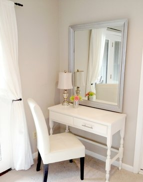 Vanity Table Without Mirror Ideas On Foter