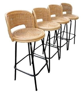 Awesome Wicker Swivel Bar Stools Ideas On Foter Uwap Interior Chair Design Uwaporg