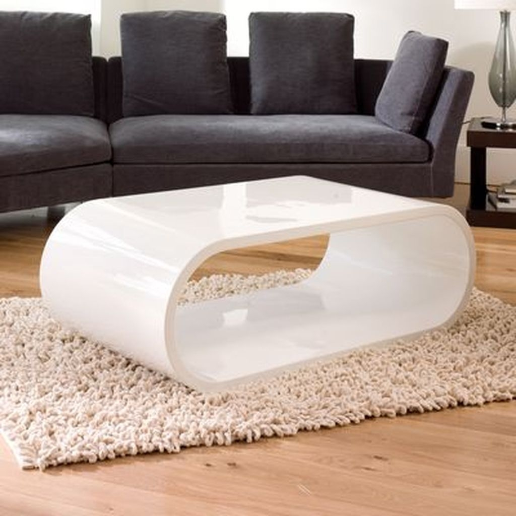 White Gloss Coffee Table 2