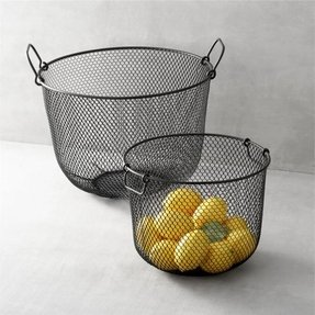 Wire fruit bowl 8