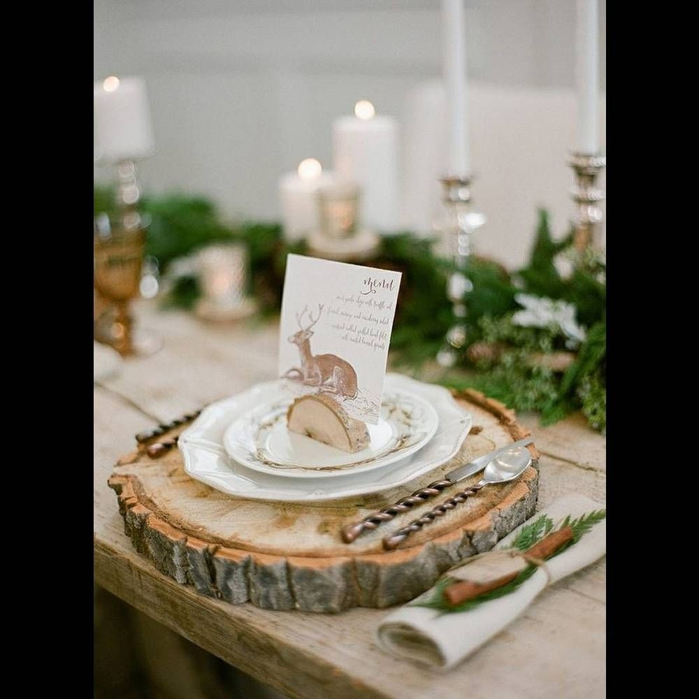 Wood charger plates : wooden plates for wedding - pezcame.com