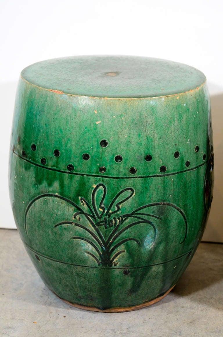 Antique Chinese Ceramic Garden Stools Image 3