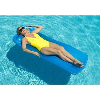 Aquaria Marquis Swimming Pool Float - Blue