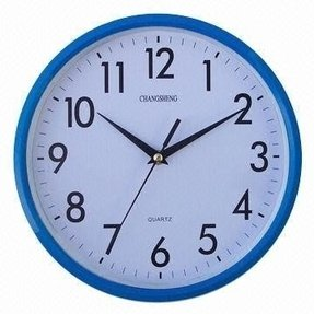 Blue Wall Clocks Foter