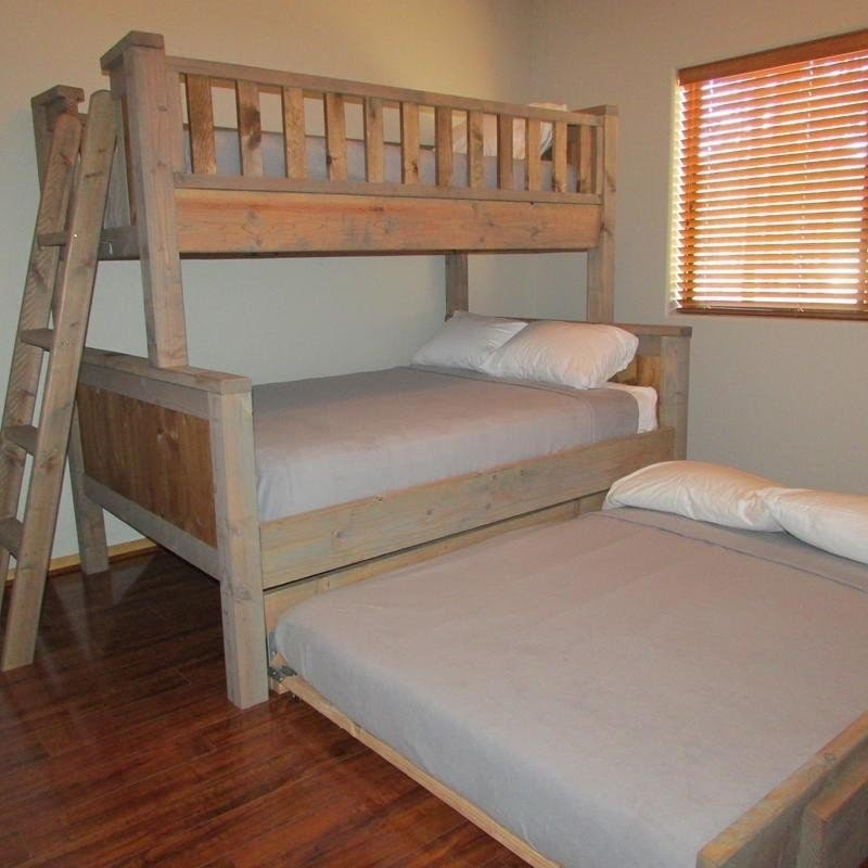 Bunk Beds With Full Size Bed On Bottom Www Macj Com Br