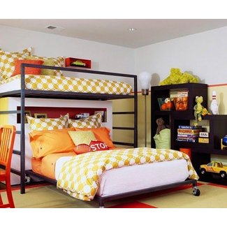Bunk bed with full size bed on bottom