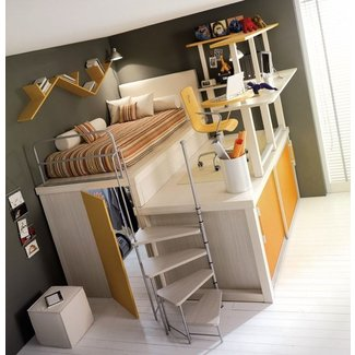 Cheap full size loft bed