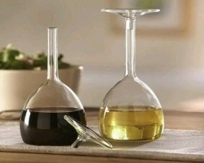 Crystal oil and vinegar set