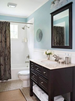 Dark Wood Vanity - Ideas On Foter