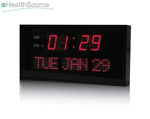 Digital Wall Clock With Date Foter