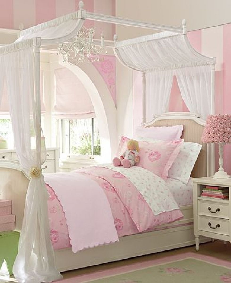Diy Princess Canopy Bed