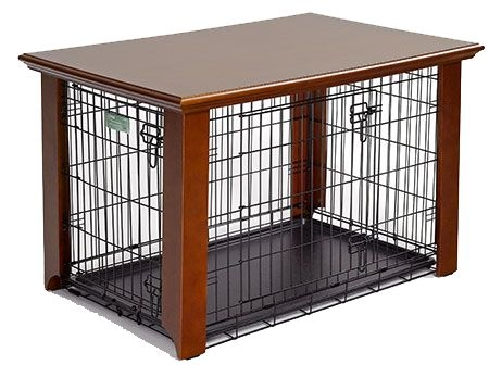 Superieur Dog Crate Side Table