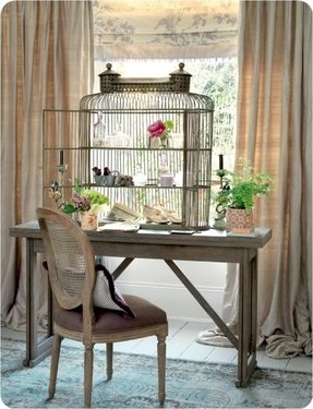 Extra large parrot cage