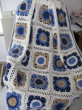 Floral throw blanket 18
