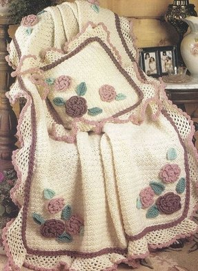 Floral throw blanket 8