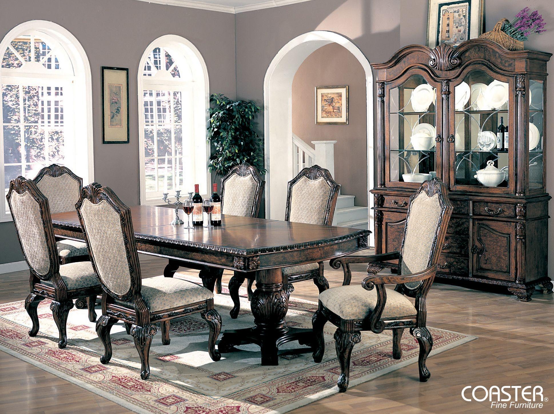 Formal Dining Room Sets For 8 10