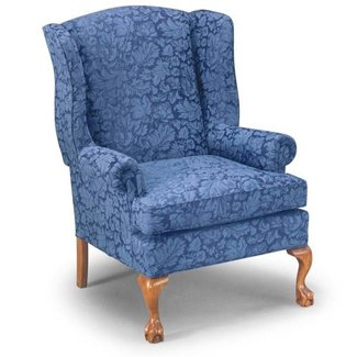 How to recover a queen anne chair