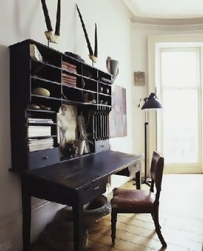Narrow Secretary Desk