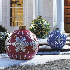 Inflatable christmas ornaments 1