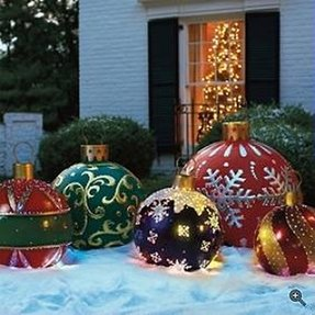 Inflatable christmas ornaments 2